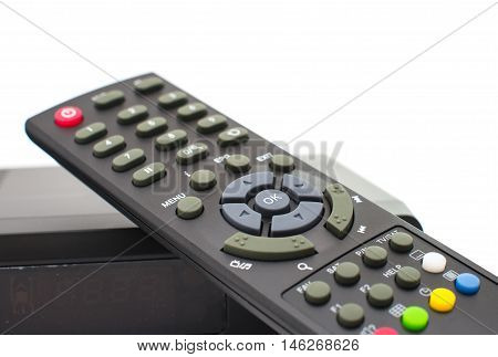 control the tuner on a white background