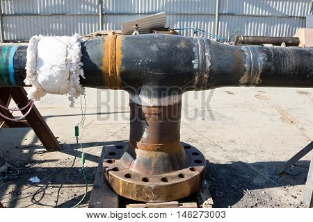 Preparation Of Multi-pass Welded Joints To Heat Treatment