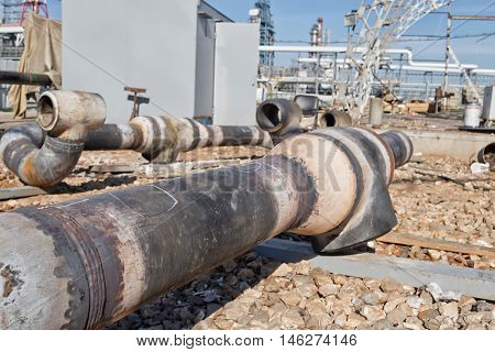 Welds Components Of Pipelines After Heat Treatment