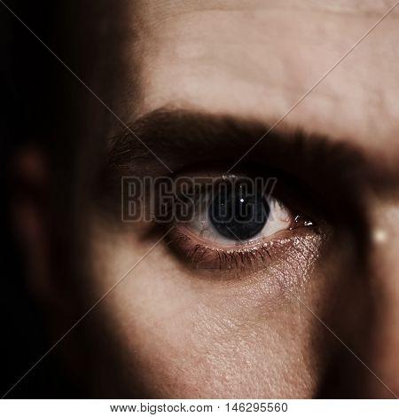 Blue Eyes Of  Man