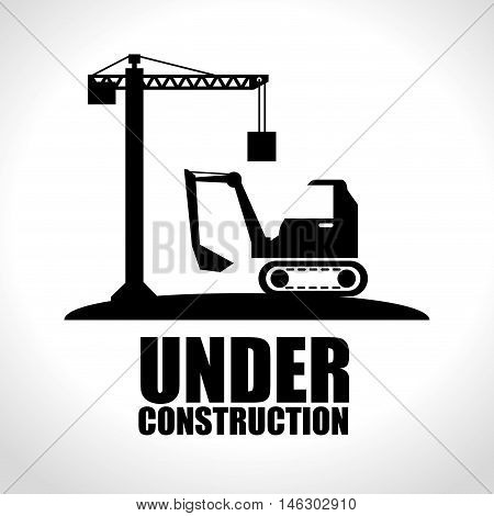 web under construction design vector illustration eps 10