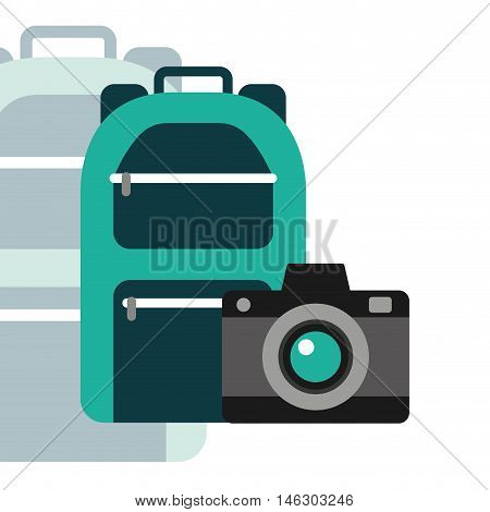 best travel isolated icons vector illustration design