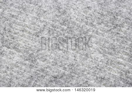 Gray Synthetic Polyester Material, Texture Background.