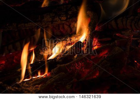 on a fire in a fire-place it is possible to look infinitely enjoying his heat and crackle of firewoods nothing creates a comfort as conflagrant fire so