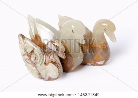 Swan made of onyx... At the beginning of a civilisation onyx was a sacred stone at the different people.