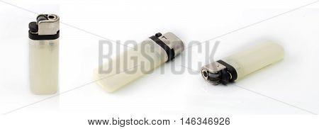 white lighter isolated on white cheap lighter