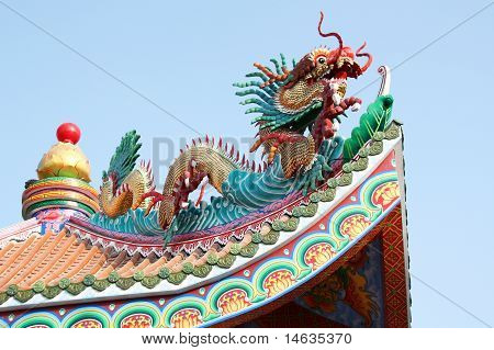 Chinese Roof Temple