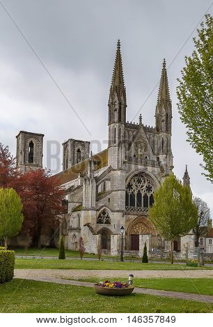 The Abbey of St. Martin established in 1124 in Laon France was one of the earliest foundations of the Premonstratensian Order.