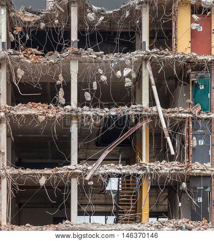 Demolition Background