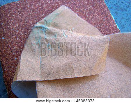 Wood sanding - used in carpenters works