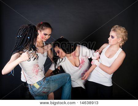Fighting Girls