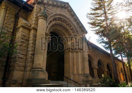Stanford University Campus in Palo Alto, California - USA