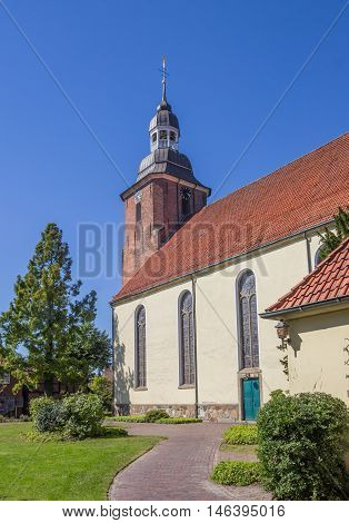 St. Andreas Church In The Center Of Cloppenburg