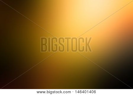 Orange gradient abstract background. dark yellow room studio background, dark tone. for used background or wallpaper