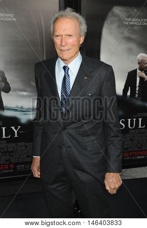 Clint Eastwood at the Los Angeles screening of 'Sully' held at the DGA Theater in Hollywood, USA on September 8, 2016.