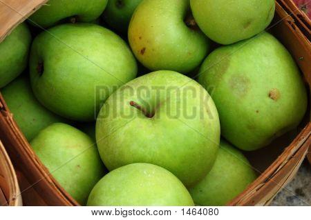 Bright Green Apples