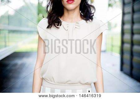 Woman Dressed Up For Bussines World