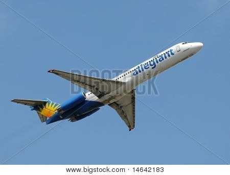 Allegiant Air Jet Airplane