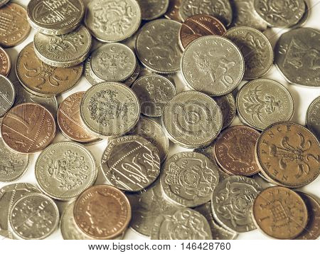 Vintage Pounds And Pence