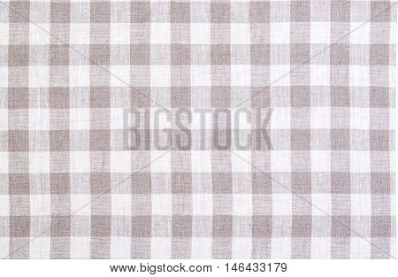 the checkered tablecloth texture background background close up