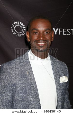 LOS ANGELES - SEP 8:  Mo McRae at the PaleyFest 2016 Fall TV Preview - FOX at the Paley Center For Media on September 8, 2016 in Beverly Hills, CA