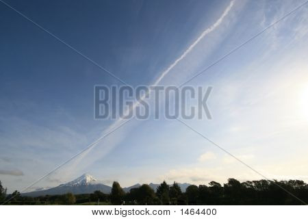 Jetstream Over Mountain