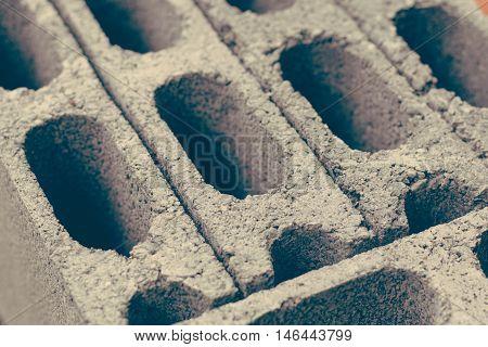 Cement brick background close up, aperture, architecture, background, block