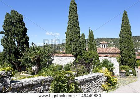 Gardens in Italian style of the Duino Castle Trieste