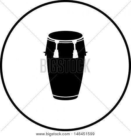 conga drum symbol