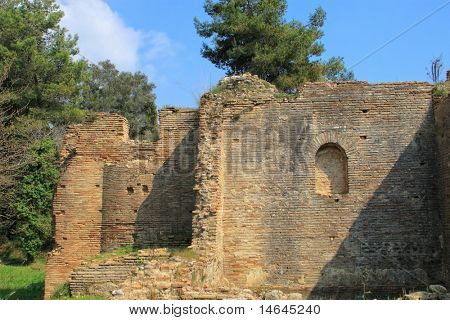 Olympia archeological site Peloponnese Greece