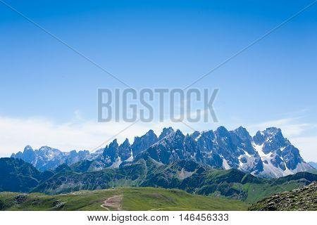 Italian Mountain Panorama