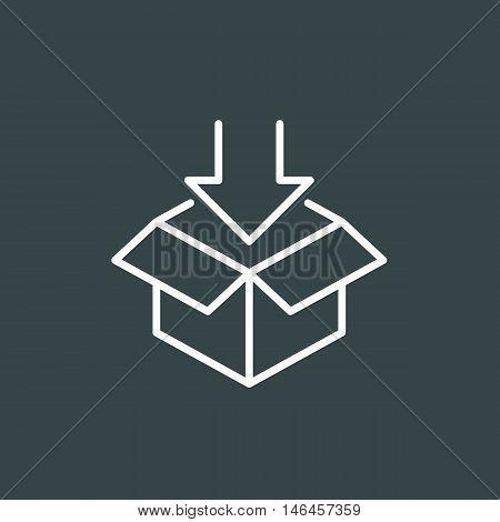Open Box Symbol Vector Photo Free Trial Bigstock