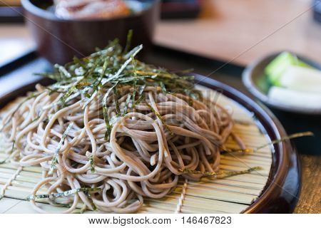 Japanese Soba, Japanese food, popular noodle food