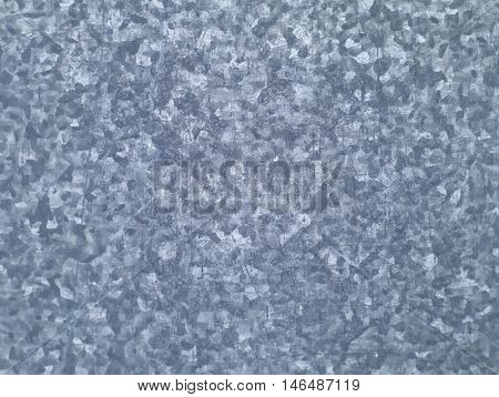 bluish grey seamless pattern on galvanized iron texture