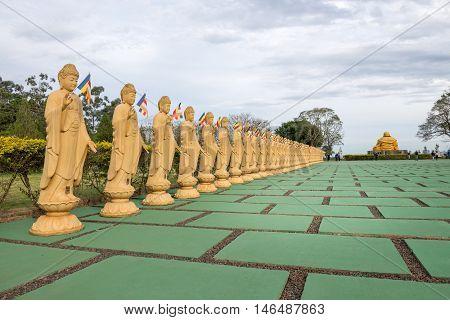 Buddha Statue Used As Amulets Of Buddhism
