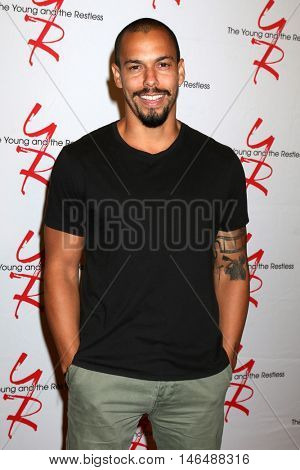 LOS ANGELES - SEP 8:  Bryton James at the Young and The Resltless 11,000 Show Celebration at the CBS Television City on September 8, 2016 in Los Angeles, CA