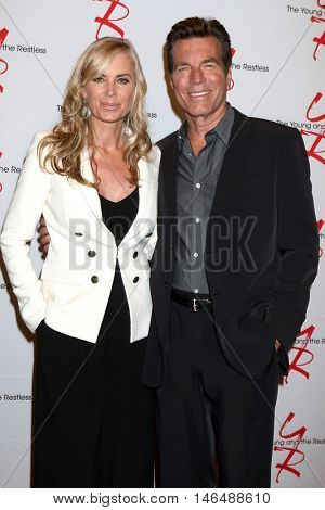LOS ANGELES - SEP 8:  Eileen Davidson, Peter Bergman at the Young and The Resltless 11,000 Show Celebration at the CBS Television City on September 8, 2016 in Los Angeles, CA