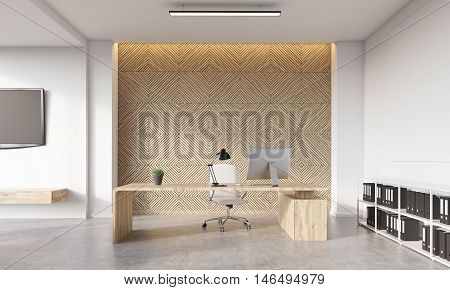 Decorative Panel In Office