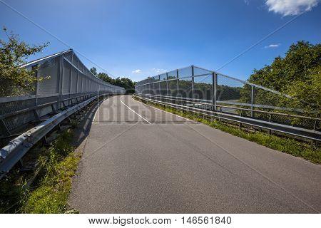 Bridge With Fence