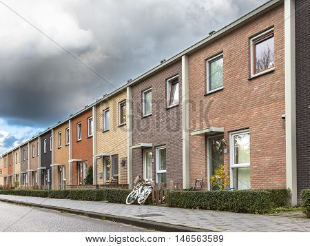 Terrace Houses In Various Colors