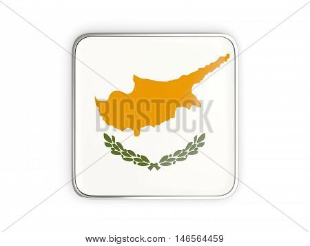 Flag Of Cyprus, Square Icon