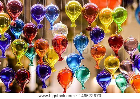Famous Murano Glass Venice Italian City