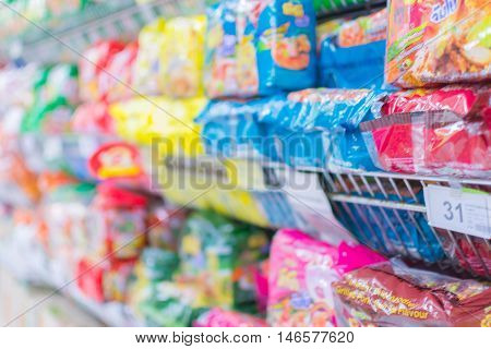 Many Types Of Instant Noodle Products
