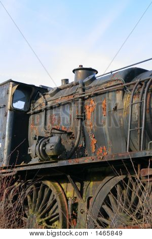 Derelict Railway Engine (1153)