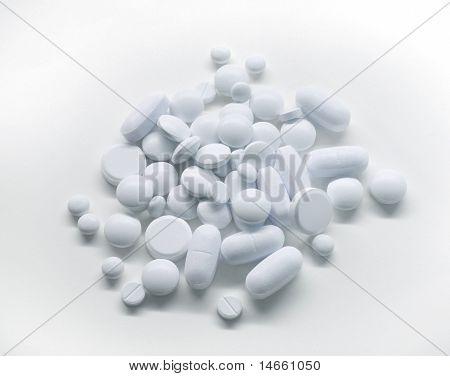 White Medicine Pills