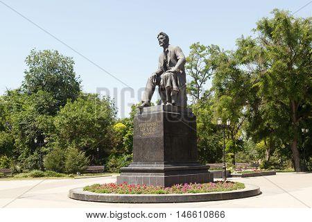 Monument To Chekhov A.p.