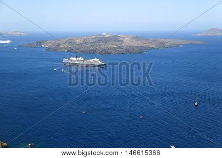 The Santorini Volcano