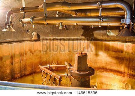 Distillery Tanks Brewery
