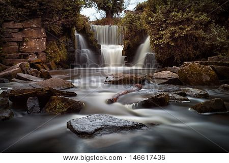 Penllergare waterfalls Long exposure of the waterfalls at Penllergare woods, Swansea, UK