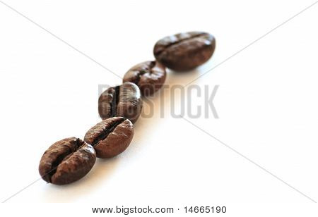 Coffee Beans (5) - Little Deep Of Field